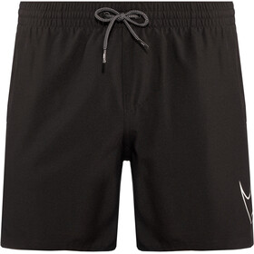 "Nike Swim Perforated Swoosh 5"" Volley Shorts Herren black"